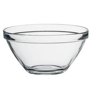 Bormioli Rocco Pompei Clear Glass 10.25 Inch Salad Bowl