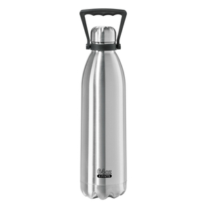 Oggi Stainless Steel Double Wall 64 Ounce Beer Growler with Handle