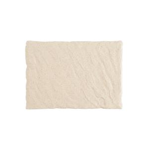 Slayte Fortaluxe Superwhite Sand 12 x 8 Inch Rectangular Tray