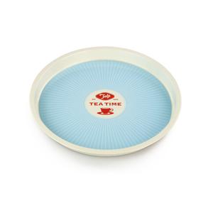 Tala Originals Blue Round Starburst Tea Tray