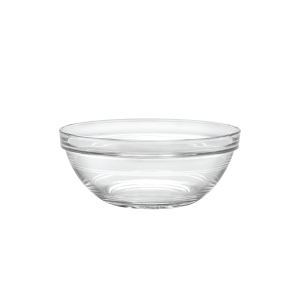 Duralex Lys Clear Glass 6.75 Inch Stackable Bowl