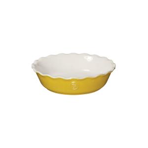Emile Henry Leaves Ceramic 5.5 Inch Mini Pie Dish