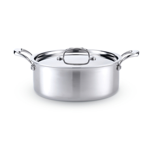Hammer Stahl Stainless Steel 6 Quart Stock Pot with Cover
