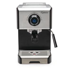 Capresso EC300 Black and Stainless Steel Espresso and Cappuccino Machine