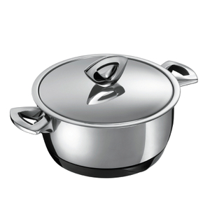 Kuhn Rikon Durotherm Stainless Steel 3 Quart Casserole Pot