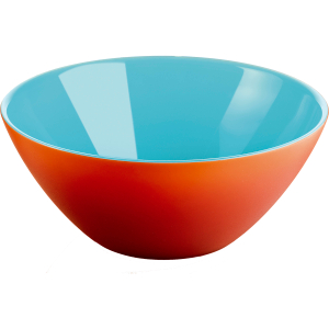 Guzzini My Fusion Coral and Sea 1.2 Quart Bowl