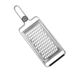 Christopher Kimball for Kuhn Rikon Stainless Steel 12.5 x 4.5 Inch All-Purpose Kitchen Grater