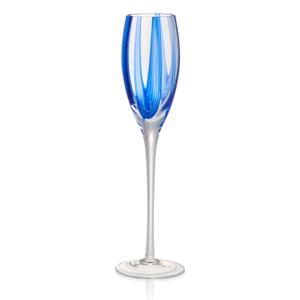 Artland Waterfall Glass 7 Ounce Flute