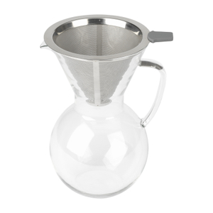 Bialetti Glass 6 Cup Pour Over Coffee Maker