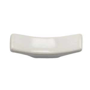 HIC Harold Import Co. White Porcelain 2.75 Inch Sushi Chopsticks Rest