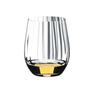 Riedel Tumbler Collection Crystal 12 Ounce Optical O Whisky Glass, Set of 2