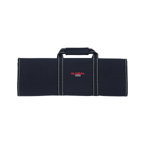Global Black Denier Nylon Chef's Case with 16 Pockets