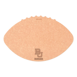 Epicurean Baylor University 16 x 10.5 Inch Football Cutting and Serving Board