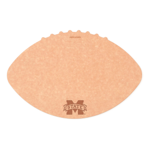 Epicurean Mississippi State University 16 x 10.5 Inch Football Cutting and Serving Board