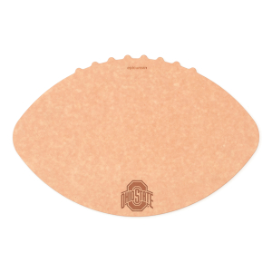 Epicurean Ohio State University 16 x 10.5 Inch Football Cutting and Serving Board