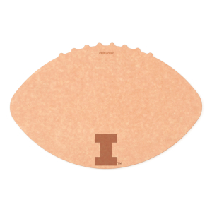Epicurean University of Illinois 16 x 10.5 Inch Football Cutting and Serving Board