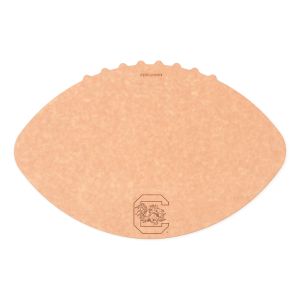 Epicurean University of South Carolina 16 x 10.5 Inch Football Cutting and Serving Board