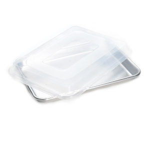 Nordic Ware Naturals Aluminum Bakers Quarter Sheet with Lid