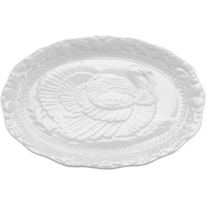 Porcelain Turkey Serving Platter
