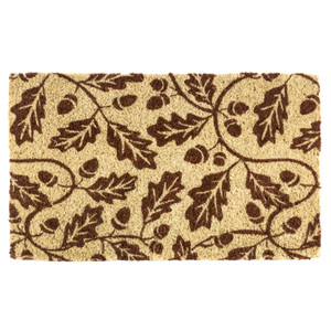 Entryways Acorns Handwoven Coconut Fiber Doormat