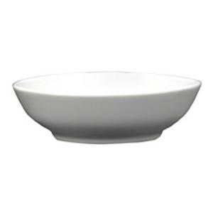 White Gloss Ceramic Oriental Sauce Dish