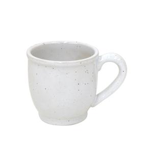 Casafina Fattoria White Stoneware 12 Ounce Mug, Set of 6