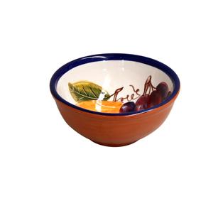 Casafina Alentejo Terracotta Giftware Grape Dip Bowl