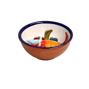 Casafina Alentejo Terracotta Giftware Fish Dip Bowl