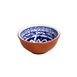 Casafina Alentejo Terracotta Giftware Indigo Dip Bowl