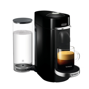 DeLonghi Nespresso Vertuo Plus Deluxe Black Coffee and Espresso Machine