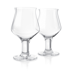 Final Touch Craft Beer Glass, Set of 2