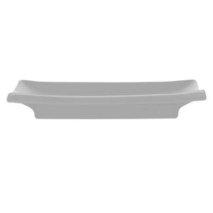 White Ceramic Rectangle Sushi Plate