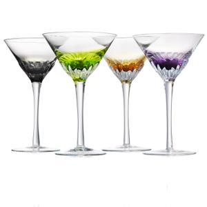 Artland Solar 8 Ounce Martini Glass, Set of 4