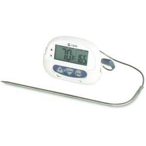 CDN White Digital Probe Thermometer