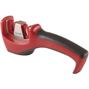 Smith's Consumer Products Inc. KitchenIQ Red Santoku Pull-Thru Knife Sharpener