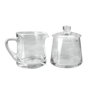 Artland Simplicity Glass 9 Ounce Sugar and Creamer Set