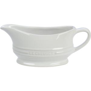 Le Creuset White Stoneware 12 Ounce Gravy Boat
