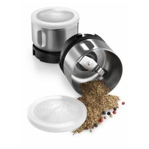 KitchenAid BCGSGA 2 Piece Stainless Steel Spice Grinder Accessory Kit