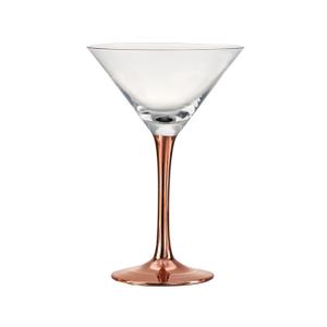 Artland Coppertino 8 Ounce Martini Glass