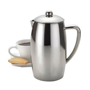 BonJour Triomphe Stainless Steel 8 Cup Double Walled Flavor Lock French Press