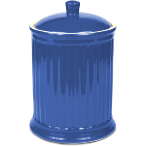 OmniWare Simsbury Blue Stoneware Extra Large Canister
