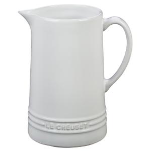 Le Creuset White Stoneware 1.6 Quart Pitcher