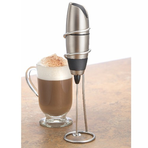 BonJour Barista Stainless Steel Milk Frother with Stand