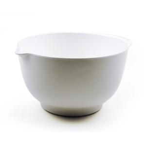 RSVP White Melamine 3 Quart Mixing Bowl