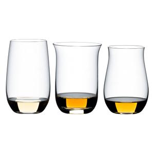 Riedel O Wine Crystal 3 Piece Spirits Tumbler Set