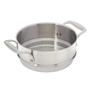American Kitchen Cookware Stainless Steel Steamer Insert for 2 and 3 Quart Saucepans