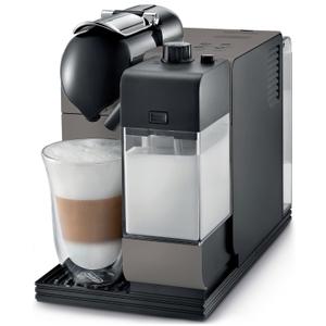 Nespresso Lattissima Plus by DeLonghi Titanium Espresso and Cappuccino Machine
