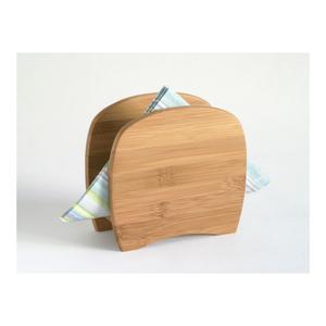 Lipper Bamboo Cloth Dinner Napkin Holder