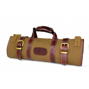Boldric Khaki Canvas 17 Pocket Knife Bag