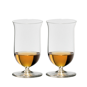 Riedel Sommeliers 7 Ounce Single Malt Whisky Bar Glass, Set of 2